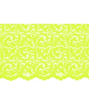 1519 Divine stretch lace lime
