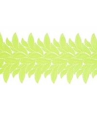 1801 Lucy lace ribbon lime