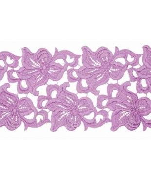 1802 Lilia lace ribbon lilac